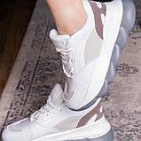 Жіночі кросівки Fashion Bubbles 1642 39 розмір 24 см Білий, фото 3
