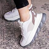 Жіночі кросівки Fashion Bubbles 1642 39 розмір 24 см Білий, фото 5