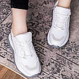 Женские кроссовки 39 размер 24 см Белые, фото 6