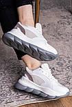 Жіночі кросівки Fashion Bubbles 1642 39 розмір 24 см Білий, фото 7