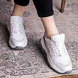 Женские кроссовки 39 размер 24 см Белые, фото 8