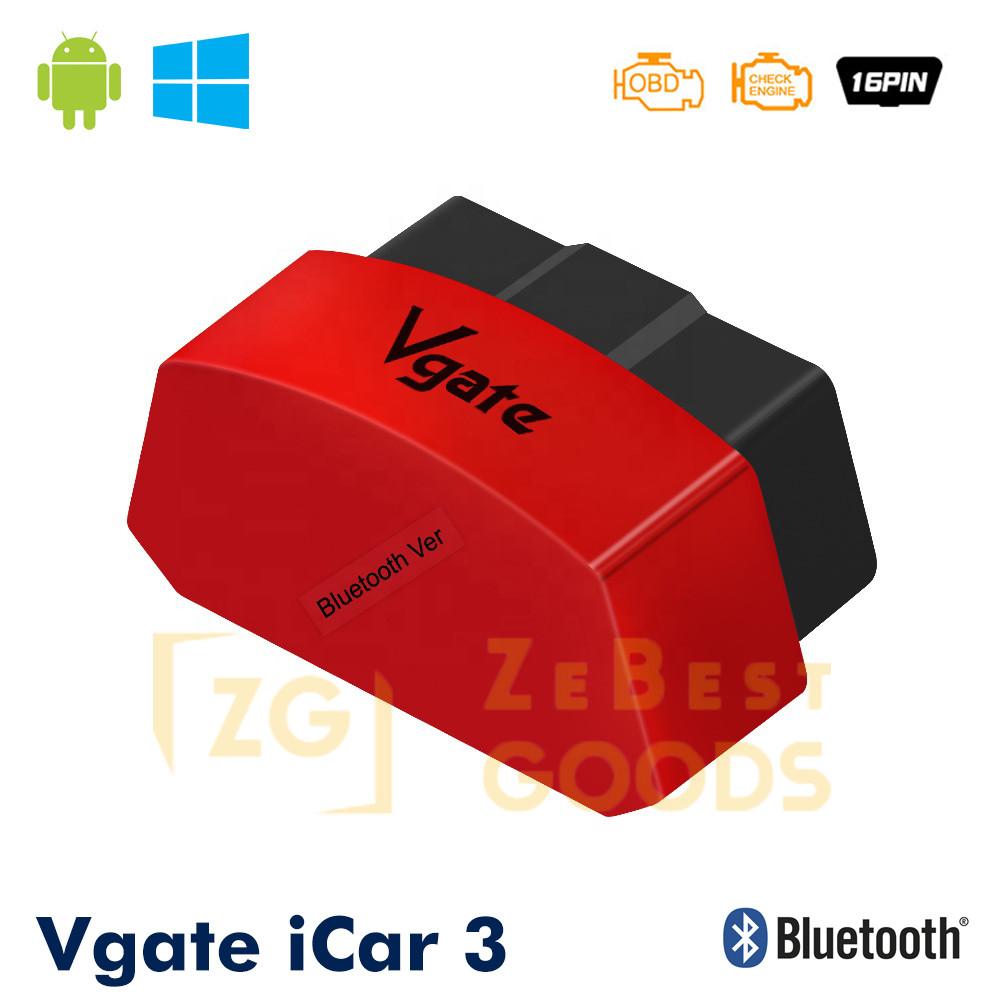 Автосканер Vgate iCar3 OBD 2 ELM327 OBD2 Bluetooth 3.0