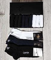 Набор мужских носков Calvin Klein - 9 пар Кельвин Кляйн в подарочной коробке упаковке / носки