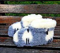 Чуни низкие овечки 36-46 р.