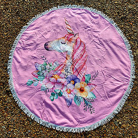 Полотенце-коврик пляжное круглое (Арт. TP312/3)