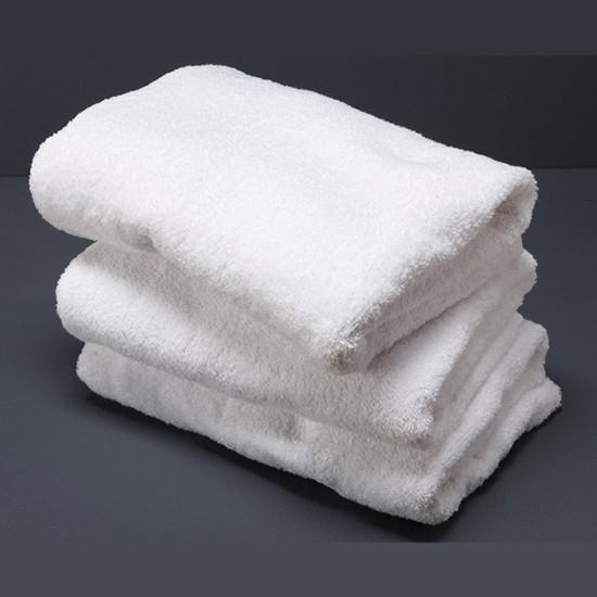 Рушник махровий білий 50x100