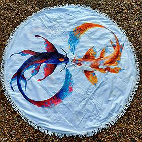Полотенце-коврик пляжное круглое (Арт. TP312/7)