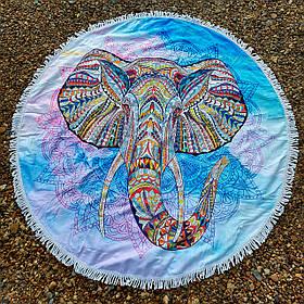 Полотенце-коврик пляжное круглое (Арт. TP312/10)