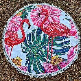 Полотенце-коврик пляжное круглое (Арт. TP312/12)