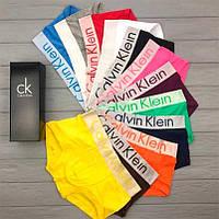 Подарочный набор мужского белья Calvin Klein Steel 3 шт (Cotton) Боксеры трусы шорты кельвин кляйн