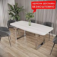 Стол Стоун раскладной ш1400-1800мм обеденный/офисный LOFT/ЛОФТ