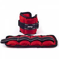 Утяжелители для рук PERTO Red 2шт по 0.75 кг