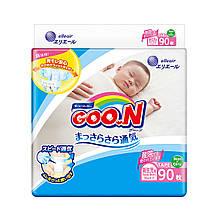 Підгузники GOO.N для новонароджених до 5 кг (розмір SS, на липучках, унісекс, 90 шт) 843152