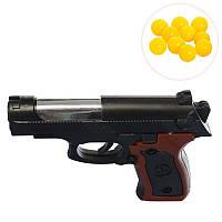 Детский пневматический пистолет с пульками