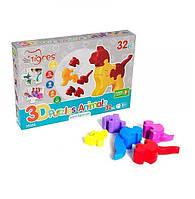 Игрушка 3D пазлы - Животные - 32 эл.тм Тигрес