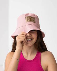 Панамка на літо для дівчинки оптом - Артикул New York 2870