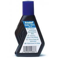 Краска штемпельная Trodat 28мл, blue (7011-син)