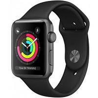Смарт-часы Apple Watch Series 3 GPS, 38mm Space Grey Aluminium Case with Blac (MTF02GK/A)