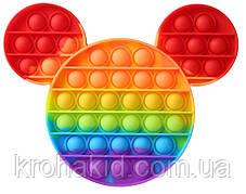 Игрушка антистрес Поп ит,  сенсорная игрушка Микки Маус Рop it fidget, поп-ит, popit