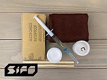 Ремкомплект для ванн Sipo - для ремонта царапин, сколов и трещин 7trav, фото 2