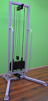Одиночная блочная рамка (профессиональная серия), стэк 60 кг