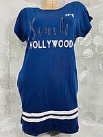 """Туніка жіноча модна HOLLYWOOD розміри 46-52 (3ол) """"INDUS"""" купити недорого від прямого постачальника"""