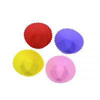̂ Набор силиконовых форм YL-118 для выпечки кексов 4 шт.