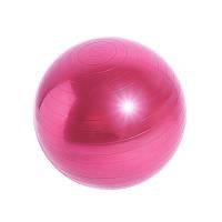 Go Фитбол шар фитнесбол для фитнеса йоги Dobetters Profi Pink 55 cm грудничков мяч гладкий гимнастический