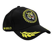 Бейсболка кепка Han-Wild Tiger Black бейсбольна кепка з тигром чоловіча