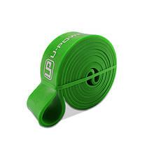 Гумова петля для тренувань U-POWEX 001 Green 2080*44*4,5 mm спортивна гума