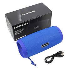 Портативна колонка Booms Bass L12 Blue Блютуз 5.0 потужність 10 Вт Батарея 1200 маг