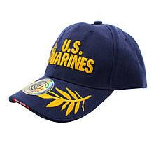 Бейсболка кепка Han-Wild U. S. Marines Blue тактична з вишивкою армійська