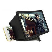 3D збільшувач екрана для мобільного телефону, смартфона підставка з лінзою 3Д збільшення для перегляду