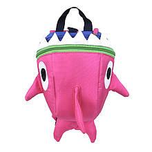Дошкільний рюкзак рюкзачок Baby Shark 5815 Pink дитячий для дівчаток