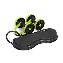 Домашній тренажер Lianjia Revoflex Xtreme Black + Green для всіх груп м'язів 6 рівнів тренування