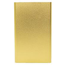 Ультратонкий Power bank Strong PB-201 Gold 10400 mAh зовнішній акумулятор для підзарядки гаджетів microUSB