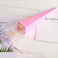 /\ Светящаяся Роза 24K KY-457 Pink покрытая фольгой подарок для девушки вечная роза ночник