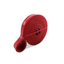 Гумова петля для тренувань U-POWEX 001 Red 2080*13*4.5 mm спортивна гума