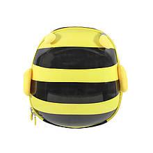 Дитячий рюкзак рюкзачок з твердим корпусом Forest Animals 2291 Бджілка для прогулянок садка