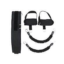 Еспандер Dobetters DBT-L01 Black для силових вправ ніг