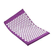 Килимок аплікатор кузнєцова для акупунктури Dobetters Purple масажер для спини