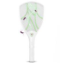 Lb Электрический уничтожитель для мух  N906 Green с подсветкой на аккумуляторе мухобойка в виде ракетки 3Вт
