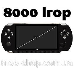 """Игровая приставка PSP X9 Mp5 5,1"""" 8Гб Детская игровая консоль ПСП с большим экраном"""