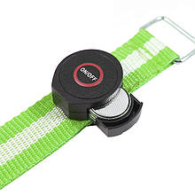 Світлодіодний LED браслет безпеки HY-0907 Green для бігу і велоспорту в темряві підсвічування