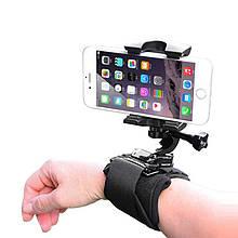 Тримач для телефону на руку OBSHI S02 наручний ремінець для відеозйомки