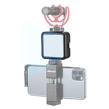 Світло Ulanzi W49 для фото-відеозйомки з кріпленням на камеру кілька режимів світіння
