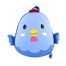 Рюкзак дитячий рюкзачок 6037 Blue Chick для прогулянок садка