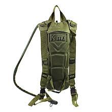 Рюкзак-гідратор поїлка питна система AOKALI Outdoor B09 3L Army Green питна система