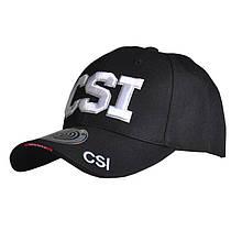 Бейсболка кепка Han-Wild CSI Black з вишитим написом для занять спортом