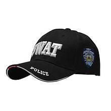 Бейсболка Han-Wild 101 SWAT Black для чоловіків спортивна модна кепка